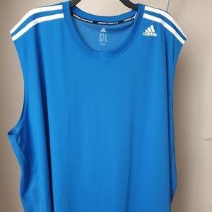 Adidas Mens Sleeveless Muscle T-shirt